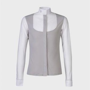 Cavalleria Toscana - Jersey Competition Shirt W/Perforated Bib And Sleeves
