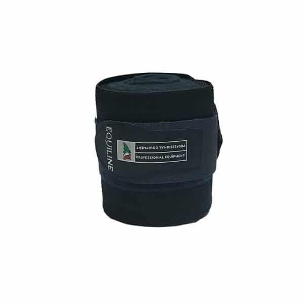 Equiline - Bandage elastisk + fleece