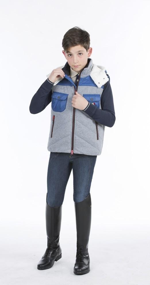 Equiline Giulio padded vest junoir