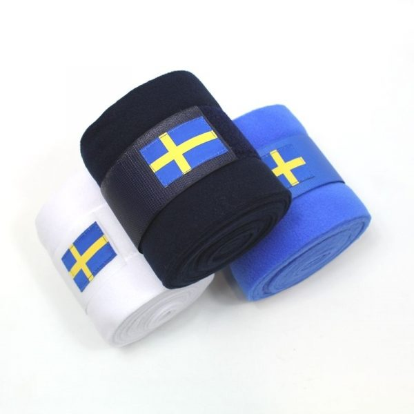 Mias RS-  Fleecelindor svenskflaggan 2-pack
