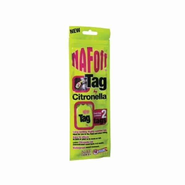Naf Off Citronella tag