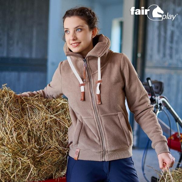 Fair Play Eva Fleectröja